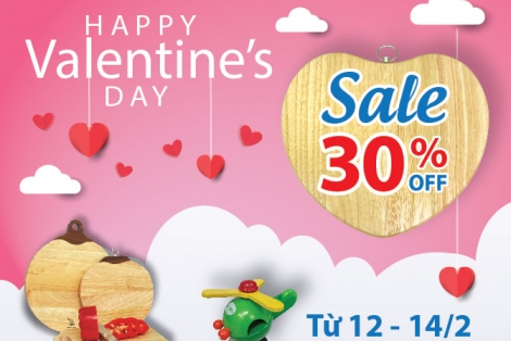 VALENTINE NGỌT NGÀO VỚI SALE OFF 30%